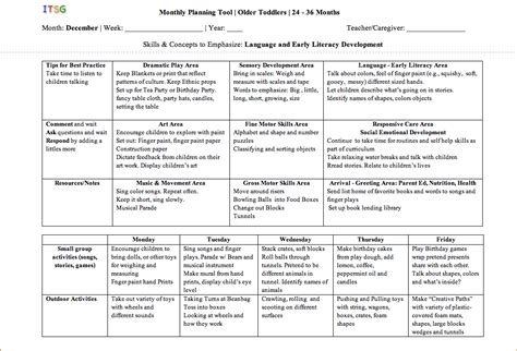 lesson plan template for toddlers search results for lesson plan template for toddlers