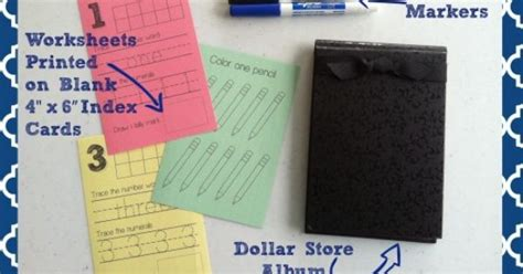 Printing Onto Index Cards Number Skills Printables Can Be Printed Onto Index