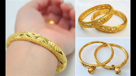 Gold Baby Gold 2 by Beautiful Gold Baby Bangles Designs Baby Gold Jewellery