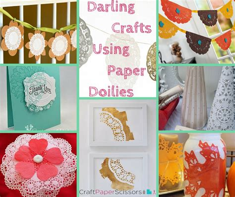 Crafts Using Paper Doilies - 10 crafts using paper doilies craft paper scissors