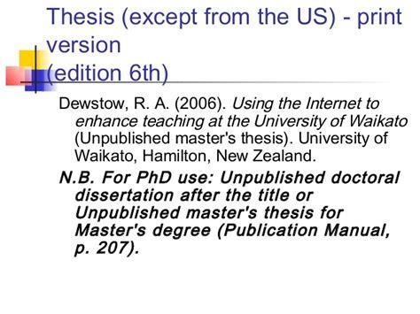 citation of dissertation doctoral dissertation help citation apa