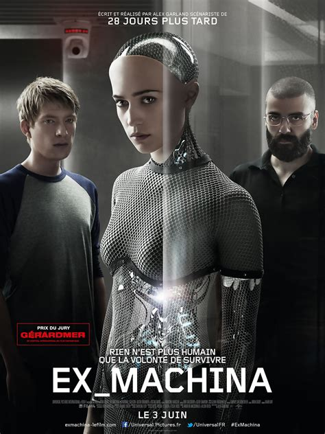ex machina v f on dvd movie synopsis and info ex machina 2015