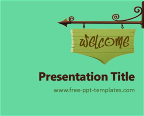 Welcome Ppt Template Free Powerpoint Templates Welcome Templates For Ppt