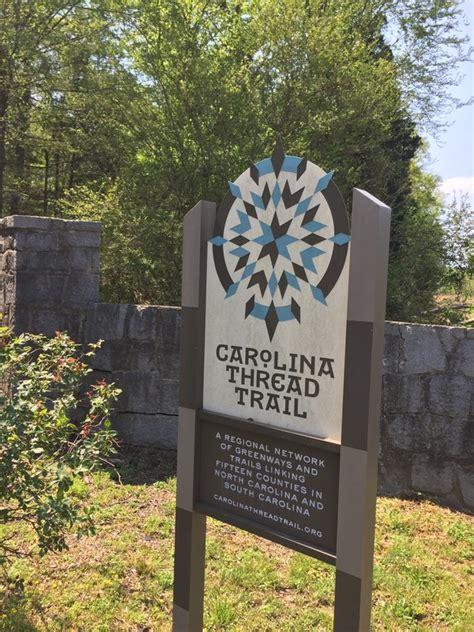 carolina thread trail map wylie park trail