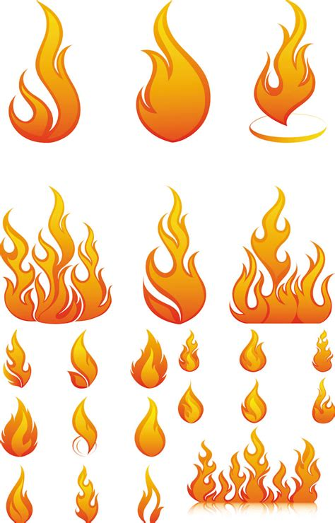 template of flames vector free stock vector illustrations eps ai svg cdr psd