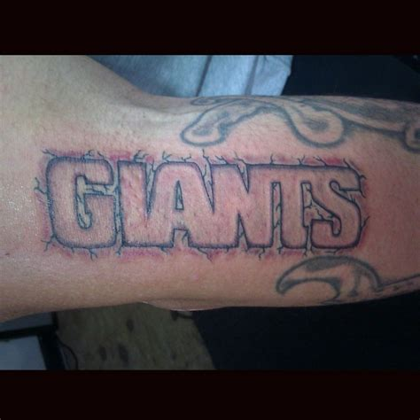 ny giants tattoo 8 best ideas images on ideas
