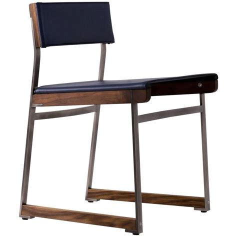 Diego Chairs by Diego Dining Chair In Leather American Hardwood And Steel For Sale At 1stdibs