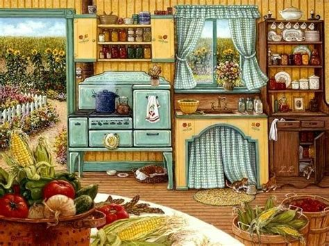 kitchen paintings 268 best images about pretty paintings of country scenes