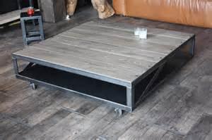 Table Basse Design Bois Acier #1: 255table-basse-acier-bois-gris-sur-mesure.JPG