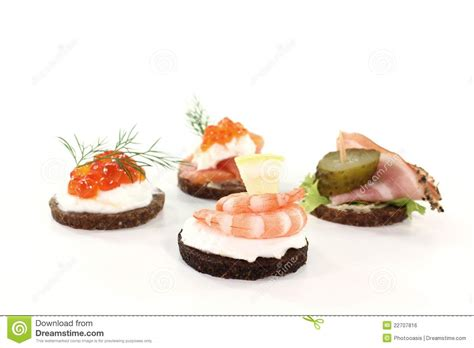 hors d oeuvre stock photo image of bread food finger 22707816