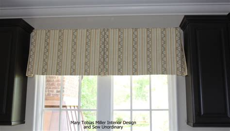 window box treatments box pleat valance