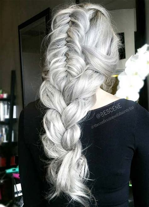 i have silver hair but what color low lights should i use 85 silver hair color ideas and tips for dyeing