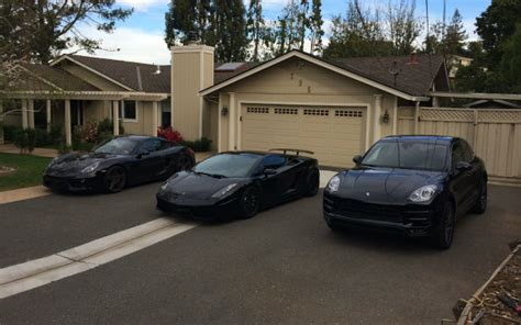 my ride lamborghini gallardo two porsches and a gti in