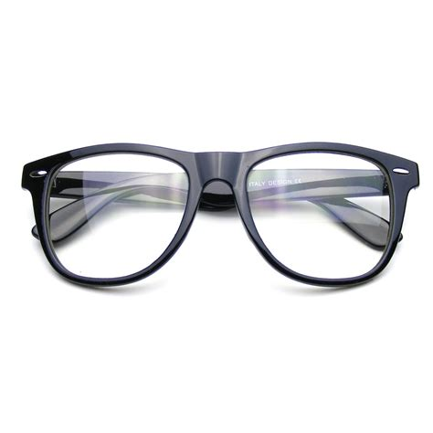 Lens Glasses glasses clear lens horned sunglasses 183 emblem