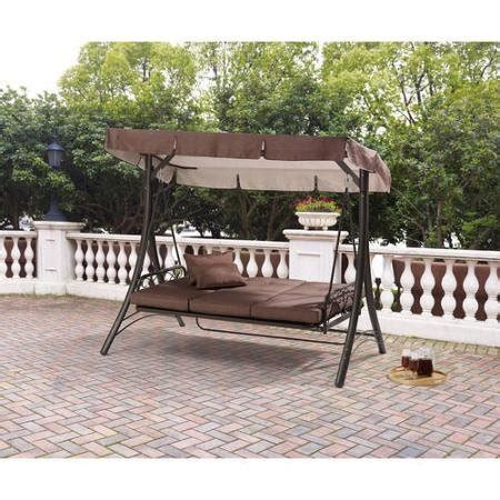 converting outdoor swing mainstays lawson ridge converting outdoor swing hammock