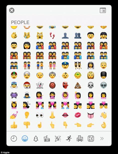 apple new emoji apple s ios 8 3 emoji set to include characters with six