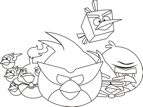 coloring page of angry birds free printable angry bird coloring pages for kids
