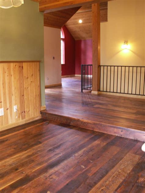 barn wood floors dream house pinterest