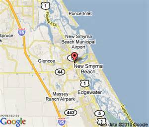 smyrna florida map new smyrna florida map