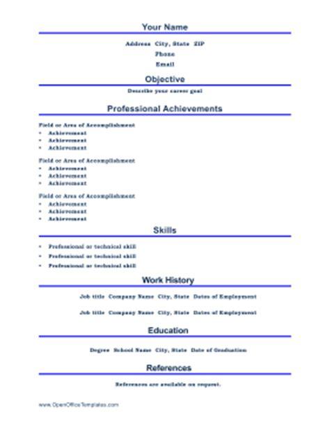 professional resume letter