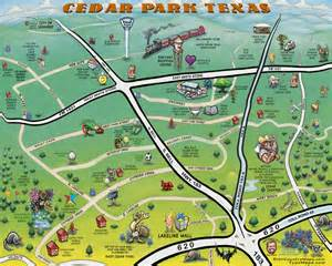 Cedar Park Map Of Cedar Park