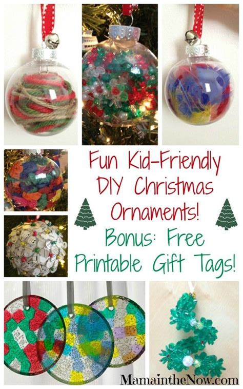 easy kid friendly diy christmas ornaments pin this