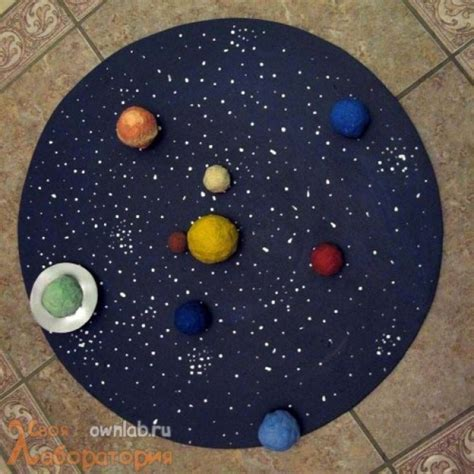 Handmade Solar System - 21 ingenious ways to keep your entertained all day