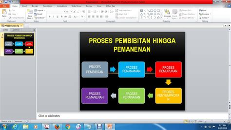 tahap membuat presentasi video cara membuat presentasi dengan diagram di powerpoint youtube