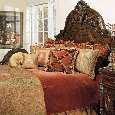 michael amini bedroom set for sale michael amini 12 pc queen woodside park bedding set ebay