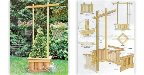 Outdoor Planter Plans by Garden Planter Plans Woodarchivist