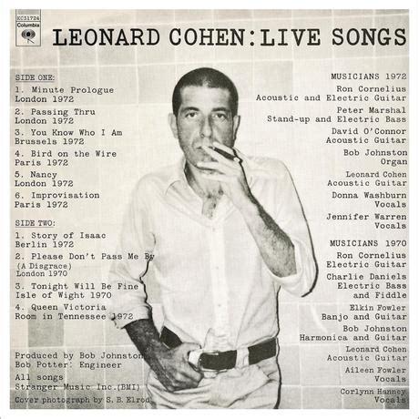 leonard cohen best albums live songs il mio album preferito di leonard cohen amica