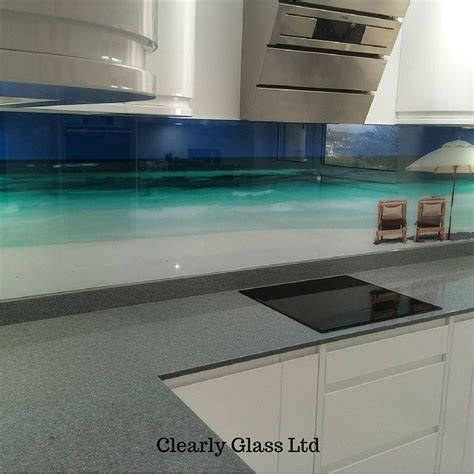bathroom splashback ideas printed glass splashback barnstaple