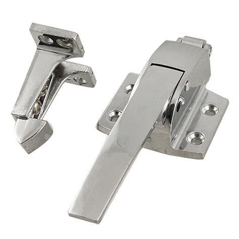 spring loaded and latch silvertonestainless steel spring loaded walk in freezer