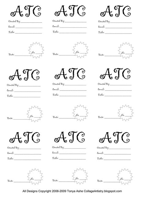 atc back design sheet no 3 free for you to use on your