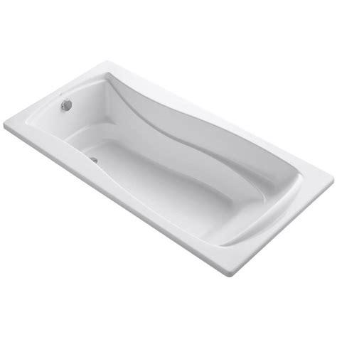 6 Soaking Tub aquatic montrose ii 6 ft reversible drain acrylic soaking tub in white 727149869014 the home