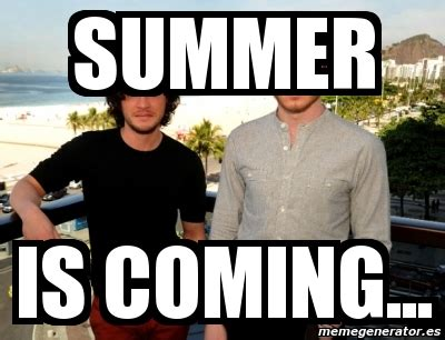 summer is coming meme meme personalizado summer is coming 26219