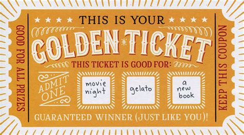 Diy Scratch Cards Template by Diy Scratch Cards Lucky You Golden Ticket Cards