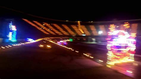 bristol christmas lights bristol motor speedway light show