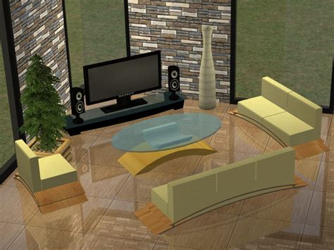 Sims 2 Living Room by Mod The Sims Modern Living Room