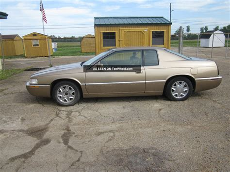 1999 Cadillac Coupe by 1999 Cadillac Eldorado Esc Coupe 2 Door 4 6l