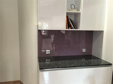 cr馘ence cuisine en verre pose d une credence cuisine 28 images cuisine