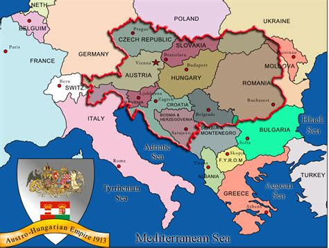 austria hungary map 1900 map austro hungarian empire 1914 nouveau