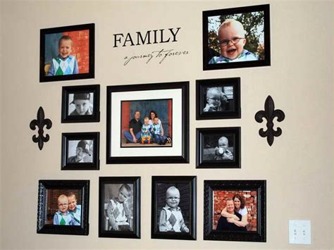 displaying family photos on wall how to repair how you displaying family photos on wall