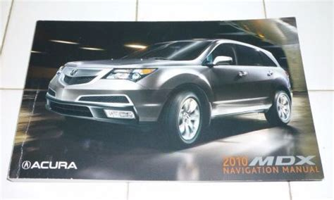 online service manuals 2010 acura mdx navigation system sell 2010 acura mdx navigation system owners manual 10 motorcycle in ventura california united