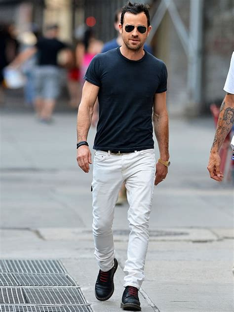 7 style lessons from justin theroux fashionbeans
