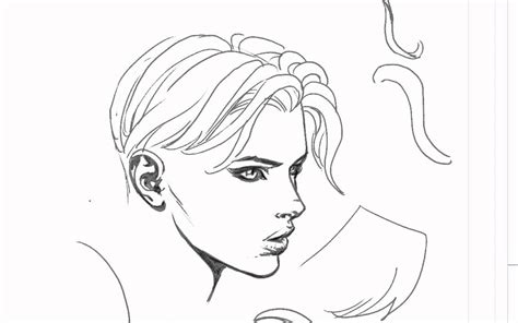 line art hair tutorial david finch hair drawing tutorial youtube