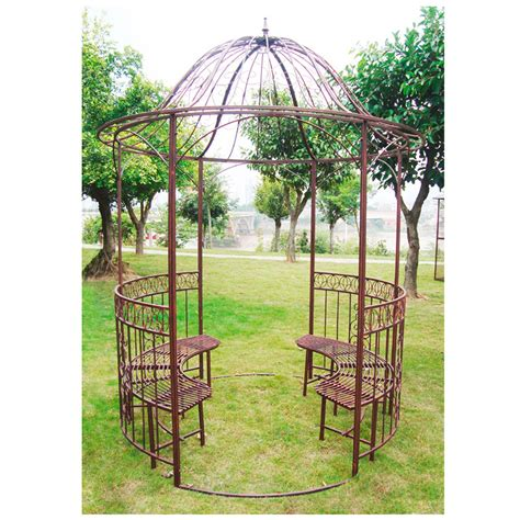 Pavillon Antik by Garten Pavillon Metallpavillon Sun Antik Kupfer Look
