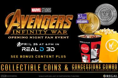 opening fan event wars promotions discounts specials regal cinemas