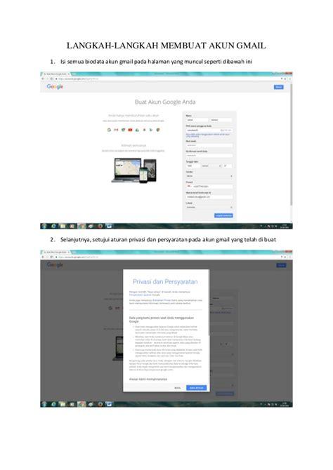 kenapa susah membuat akun gmail langkah langkah membuat akun gmail