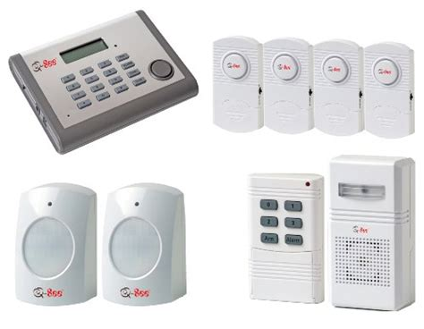 q see qsdl503ad wireless home security alarm system kit